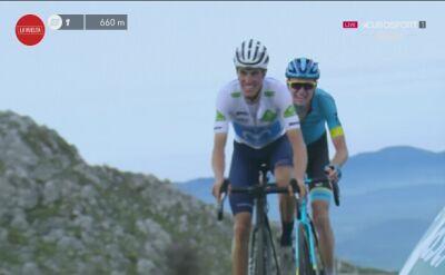 Hugh Carthy wygrał 12. etap Vuelta a Espana