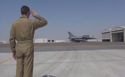 Pierwszy francuski nalot na Irak