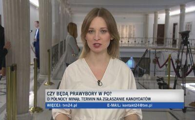 Kidawa-Błońska i tajemniczy kandydat. Jest kolejna kandydatura w prawyborach w PO