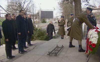 Prezydent i premier oddali hołd powstańcom styczniowym
