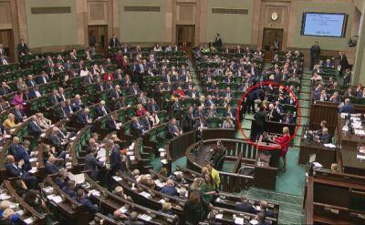 Posłanka PiS głosowała przeciwko Piotrowiczowi. Potem rozmawiał z nią prezes Kaczyński