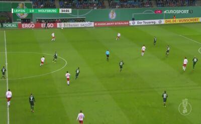 Zadecydował jeden gol. Lipsk pokonał Wolfsburg