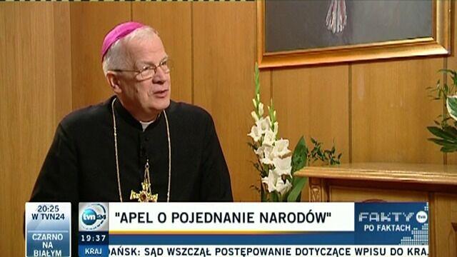 Abp Michalik: Pojednanie służy wszystkim ludziom