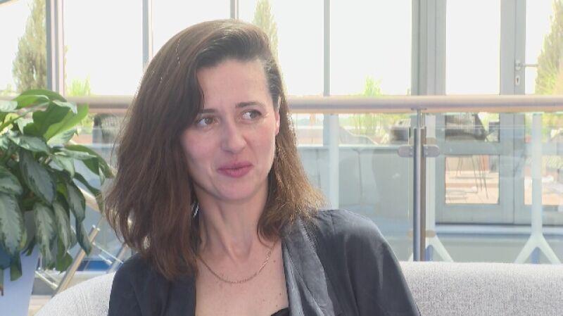 Agnieszka Grochowska: macierzyństwo zabawnie splotło się z filmem Wajdy