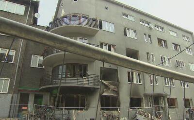 Kamienica w Bytomiu dzień po wybuchu