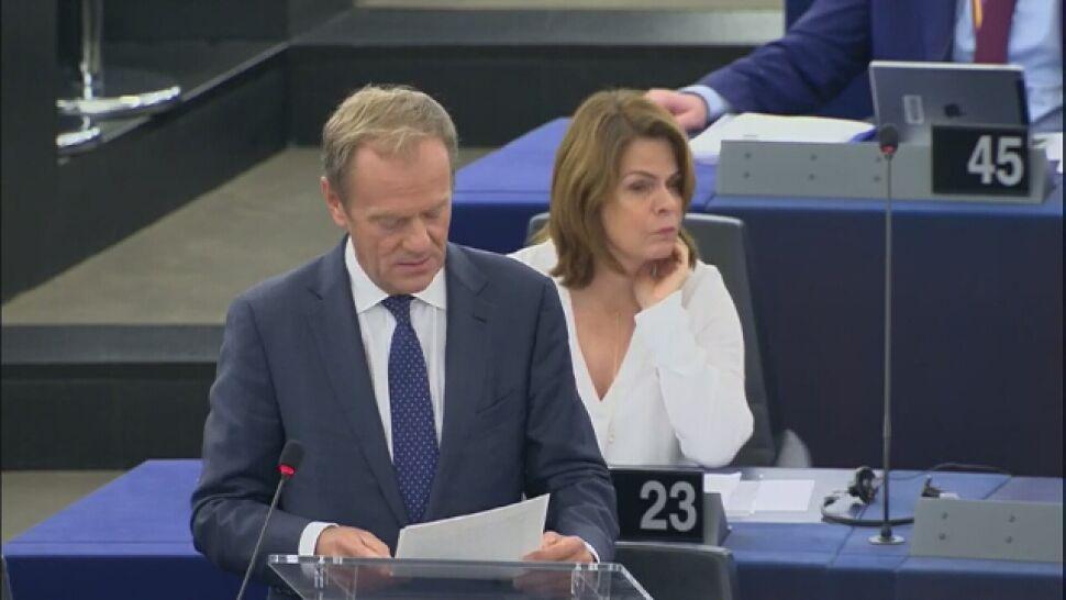 """Tusk o rozdziale unijnych stanowisk.  Usłyszał, że """"wykluczył Europę Wschodnią"""""""