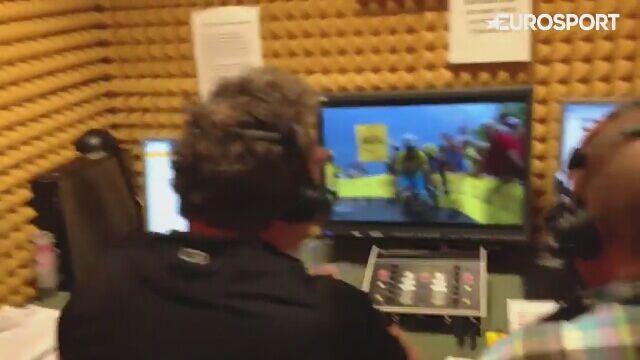 Pchamy, pchamy! I wszystko jasne - Jaroński i Wyrzykowski w akcji podczas Tour de France