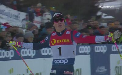 Klaebo znakomicie zaczął Tour de Ski