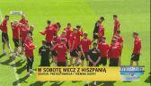 Polacy przygotowują się do meczu z Hiszpanią