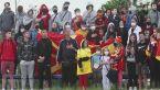 Macedończycy oglądali debiut swoich piłkarzy na mistrzostwach Europy