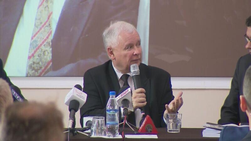 """Jarosław Kaczyński: """"Solidarnością"""" kierował de facto mój brat"""