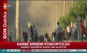 Dym w Ankarze