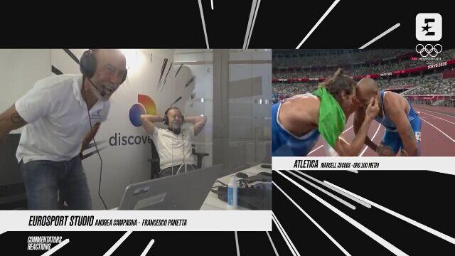 Tokio. Reakcja włoskich komentatorów na złoto Marcella Jacobsa na 100 m