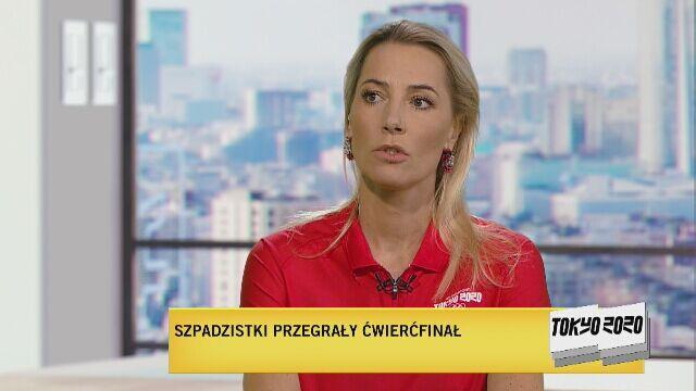 Tokio 2020. Sylwia Gruchała po porażce szpadzistek: duży smutek