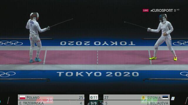 Tokio. Polki przegrały z Estonią w ćwierćfinale drużynowej szpady