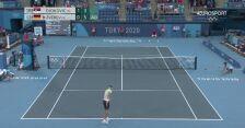 Tokio. Alexander Zverev wygrał drugiego seta w półfinale tenisowego singla
