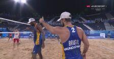 Tokio. Siatkówka plażowa mężczyzn. Para Fijałek/Bryl przegrała z Brazylijczykami