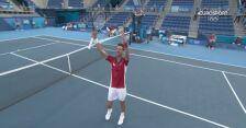 Tokio. Novak Djokovic pewnie pokonał Alejandro Davidovicha Fokinę i awansował do ćwierćfinału
