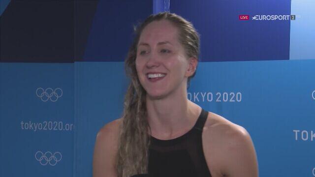 Tokio. Wywiad z Katarzyną Wasick po finale 50m stylem dowolnym