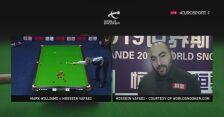 Williams z furą szczęścia w półfinale China Championship