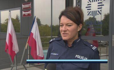 Policja o wypadku wiatrakowca