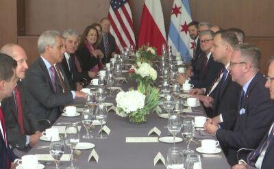 Wizyta prezydenta Andrzeja Dudy w Chicago