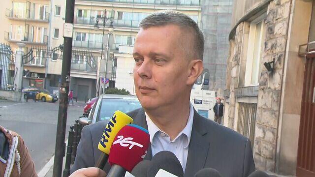 Tomasz Siemoniak przed spotkaniem PO