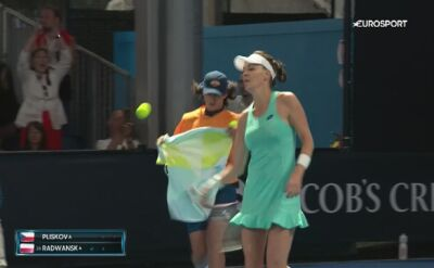 Radwańska - Pliskova na Australian Open 2018