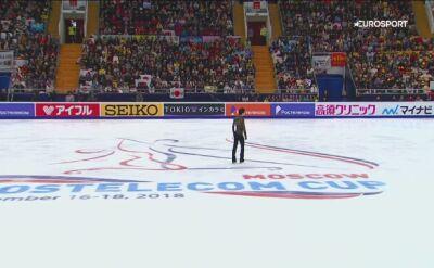 Hanyu wygrał Cup of Russia