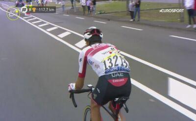 Fabio Aru wycofał się z Tour de France