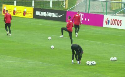 Ostatni trening kadry przed odlotem na mecz z Holandią