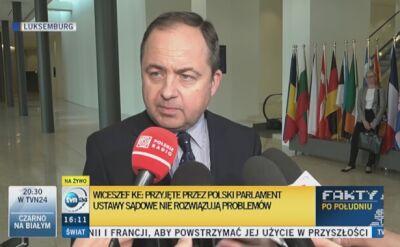 Szymański: Polska nie może działać pod międzynarodową presją