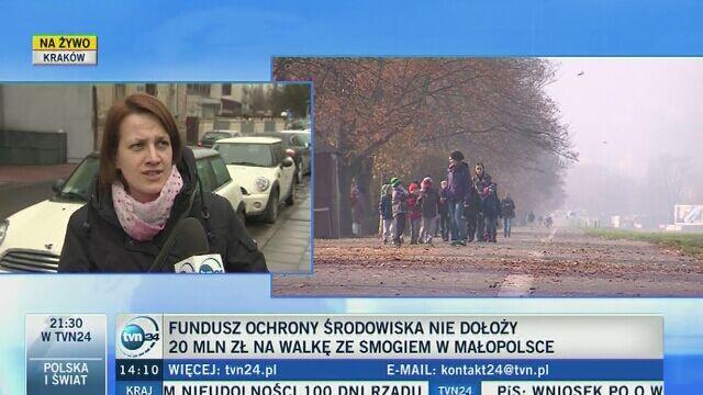 Mieszkańcy Krakowa o decyzji NFOŚiGW