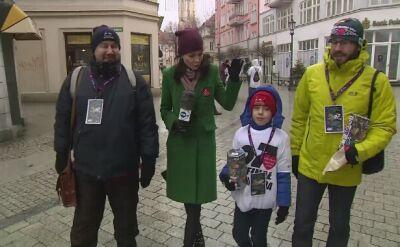 Rodzina z Zielonej Góry nie opuściła żadnego finału WOŚP. Kwestują od 27 lat