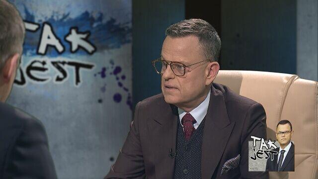 ks. Andrzej Kobyliński i Jerzy Wenderlich w Tak Jest