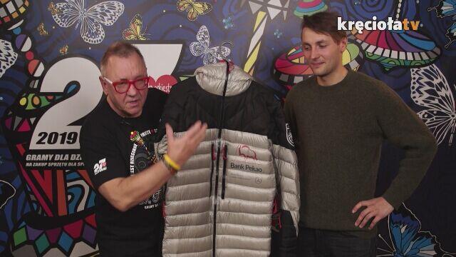 Andrzej Bargiel wystawił kombinezon, w którym zjechał z K2
