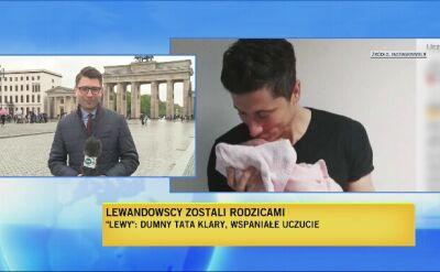 Lewandowscy rodzicami, korespondencja z Niemiec