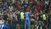 Zamieszki na trybunach podczas meczu Nicea - Marsylia