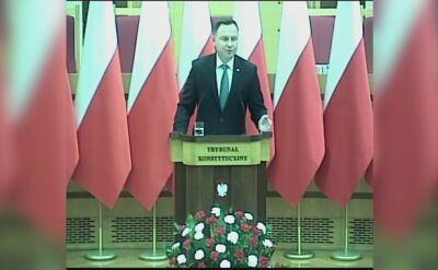 Prezydent: uznałem, że wykonanie orzeczenia TSUE jest potrzebne