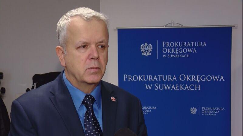 Rzecznik PO w Suwałkach: znaleziono zwłoki mężczyzny, bez głowy. To jedyna sprawa o tego typu charakterze