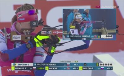 Kuźmina wygrała sprint w Oslo