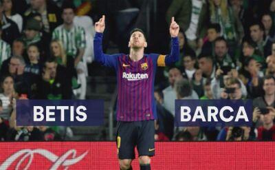 Messi zaczarował Betis