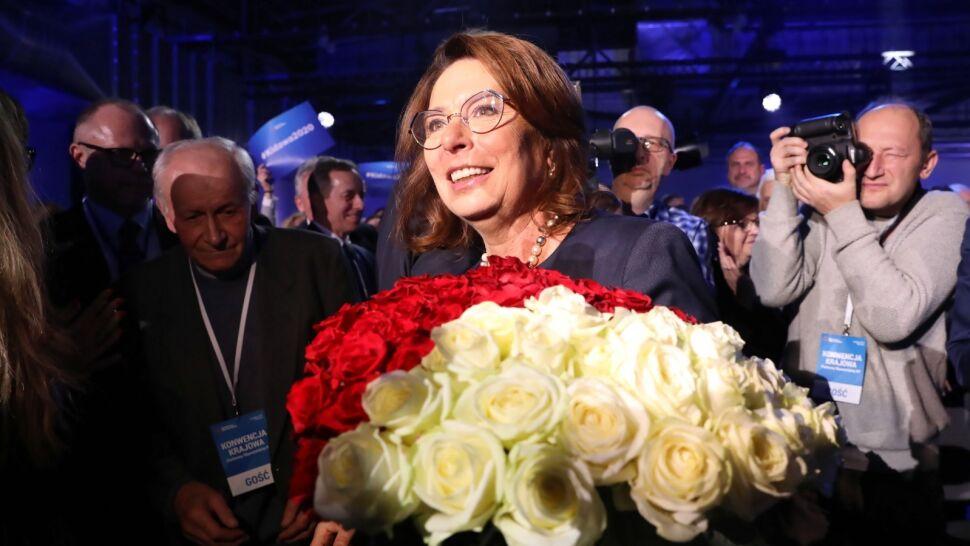 Delegaci PO zdecydowali. Małgorzata Kidawa-Błońska kandydatką PO na prezydenta