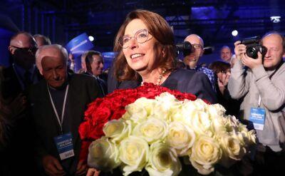 Delegaci PO zdecydowali. Małgorzata Kidawa-Błońska kandydatką na prezydenta