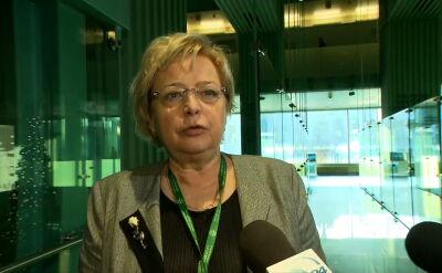 Małgorzata Gersdorf apeluje do sędziów Izby Dyscyplinarnej, by powstrzymali się od orzekania