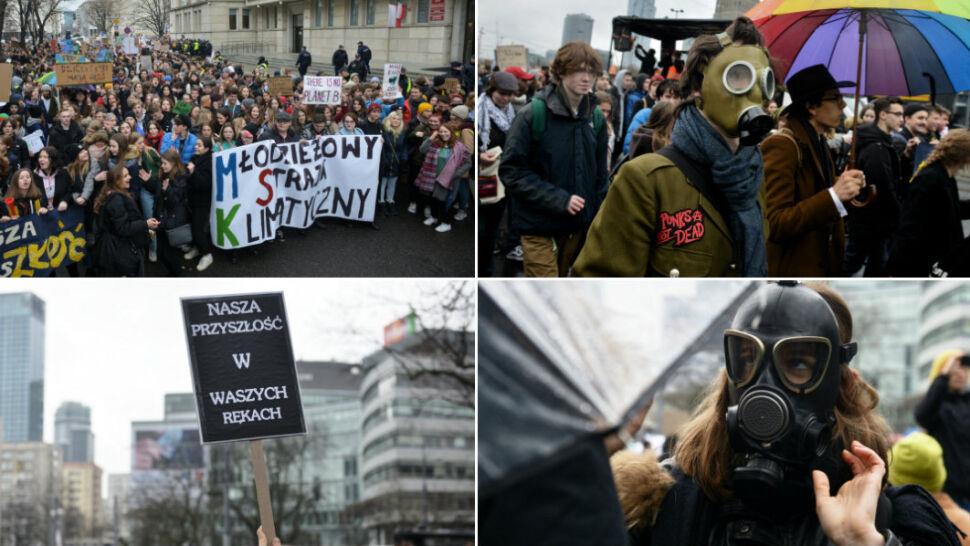 """""""Najpierw natura, potem matura"""". Światowy strajk klimatyczny młodzieży"""