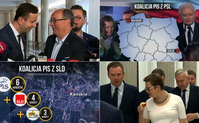 """""""Waśnie zostawiamy tym na górze"""". Lokalni działacze negocjują koalicje"""