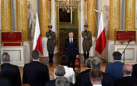 06.08.2015 | Prezydent Andrzej Duda na Zamku Królewskim