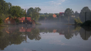 Over 50 interventions of fire service in Lublin after heavy storm