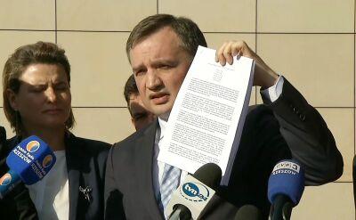 Opozycja zapowiada Trybunał Stanu dla Ziobry. Jeśli będzie mieć większość